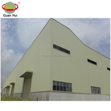 Durable large span cold storage warehouse with kit