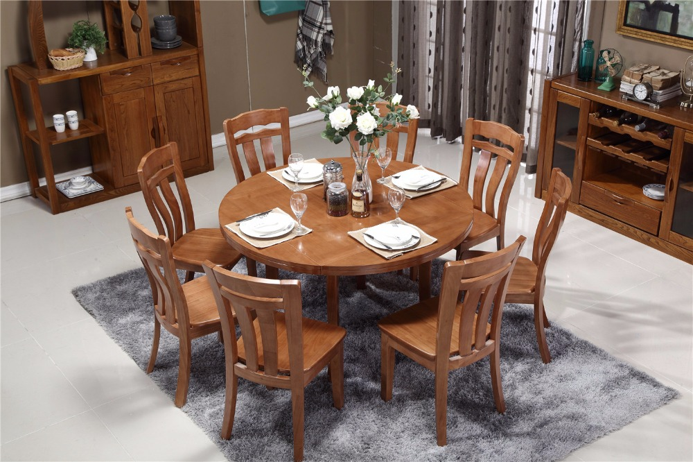 Hot saling foiding expandable round dining table