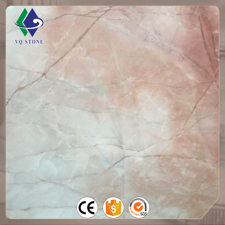 Manufacturer Supplier polished Pink marble slab