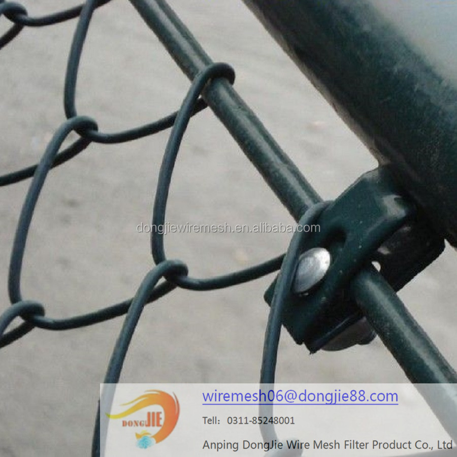 Spraying plastics High quality chain link fence