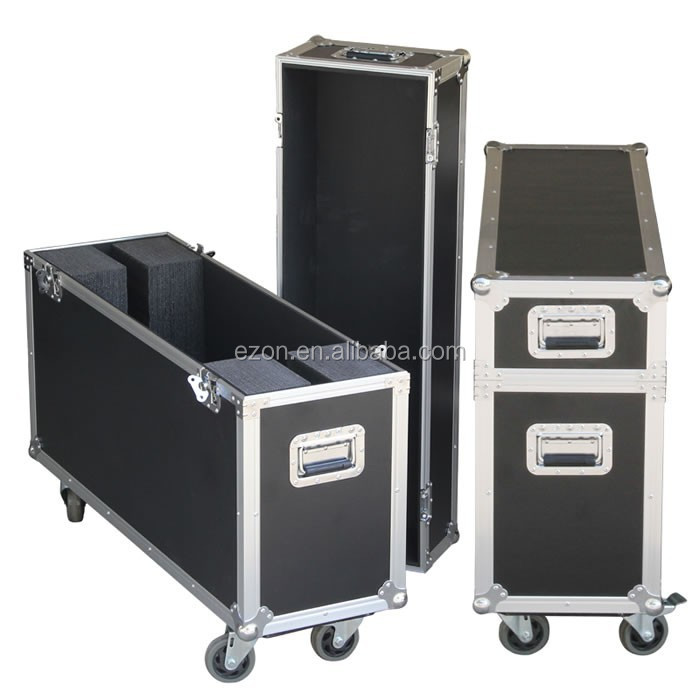 Custom Plasma LCD TV flight case,Lighting equipment tool storage flight case,Audio equipment shockproof aluminum flight case
