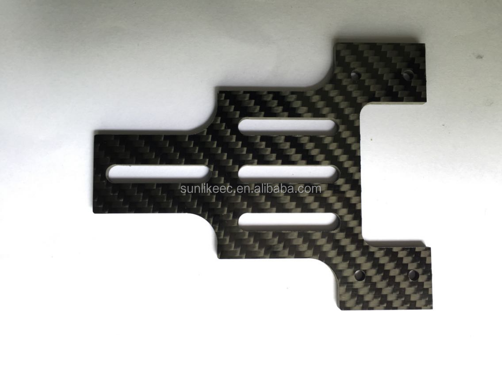Customized High Performance and Better Price 3K CNC Cutting Carbon Fiber Product