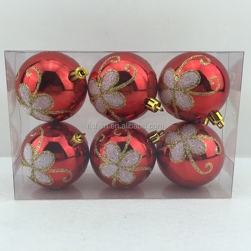 Factory sale led xmas ball ornaments bulk cheap plastic for Christmas ornaments sale