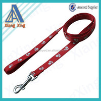 High quality SGS certificate real nylon dog leash, dog leashes for walking dogs