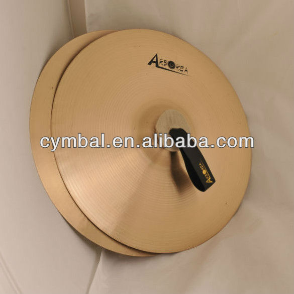 marching cymbal,FJB 40cm Marching Cymbal