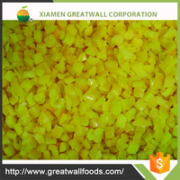 HACCP chinese iqf yellow pepper