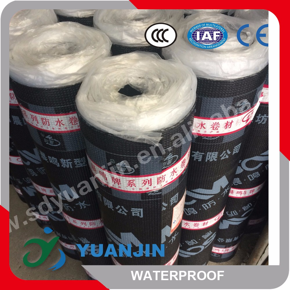 hot sale SBS waterproofing system fine sand/PE film/mineral slates SBS elastomeric waterproofing membrane