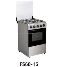 FS60-15 combi oven gas cooker with oven biscuit oven