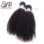 Fashion Afro Kinky Curly Indian Remy Expression Fully Virgin Hair 10a Attachment Weave 10a