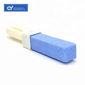 Natural pumice stone toilet decontamination cleaning brush toilet seat Cleaner toilet brush stone