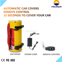 HOT SALE automatic car covers/hail protection,folding garage CAR COVER