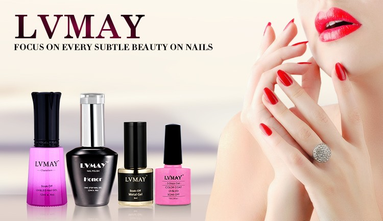 Lvmay Temperature Color Changing Gel Nail Polish Base Coat