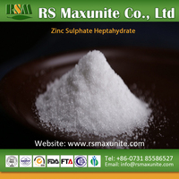 Agrochemical supplier price zinc sulphate heptahydrate