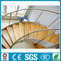 stainless steel staircase handrail design