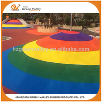 Factory price custom recycled rubber floor granules