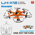 Mini Hexacopter LH-X12 2.4G 6Axis Gyro Radio Control Unmanned Aerial Vehicle (uav) Hexacopter Drone
