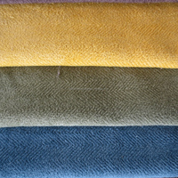 new herringbone brushed velvet sofa upholstery fabric for versace furniture