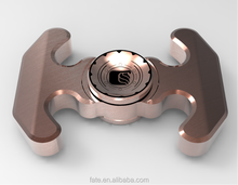 2017 Hot sale can spin 7 min copper brass fidget spinner