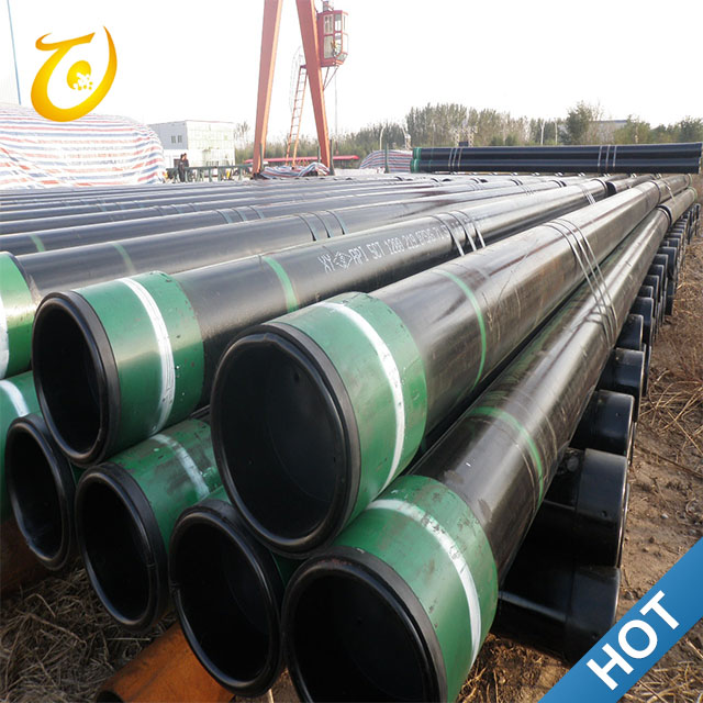 Thick Wall API 5CT Grade J55 K55 N80 P110 Seamless Steel Casing Pipe