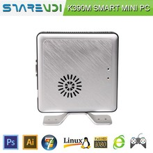 Chassis Smart MINI PC Thin Client 2GB RAM 8GB SSD Linux or Win7 OS Metal Bracket can be wall-mounted