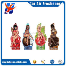 Sexy Girl Paper Air Freshener for car Anime Custom Car Air Freshener