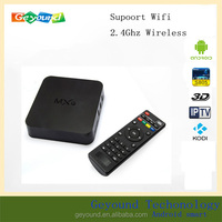 2015 quad core android google internet mxq set top box with 1GB