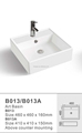 2016 Best selling ceramic sink art wash basin B013, B013A