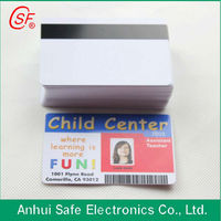 pvc cards signature directly