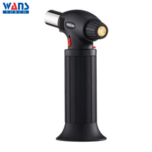 Stainless steel windproof cooking barbecue gas lighter butane torch lowes BS-410