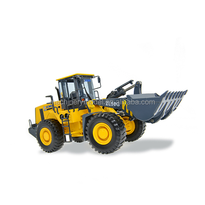 Professional customized mini miniature model Wheel Loader Model toy car