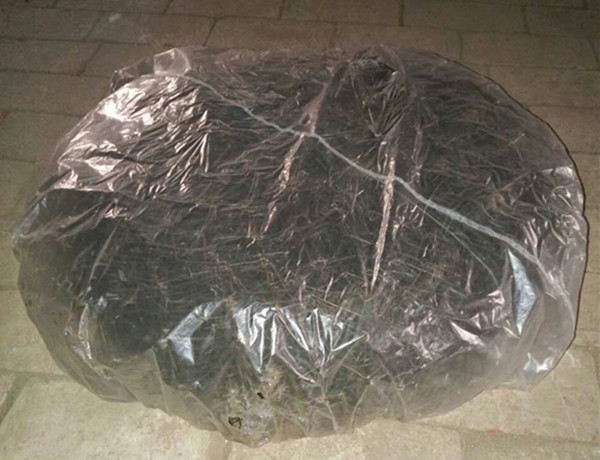 Popular 2016 garden used transplant wire boxes afforest saving soil bags tree root ball mesh baskets