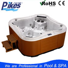 Freestanding Acrylic durable Sex massage SPA Balboa whirlpool hydro hot tub with Wifi video TV