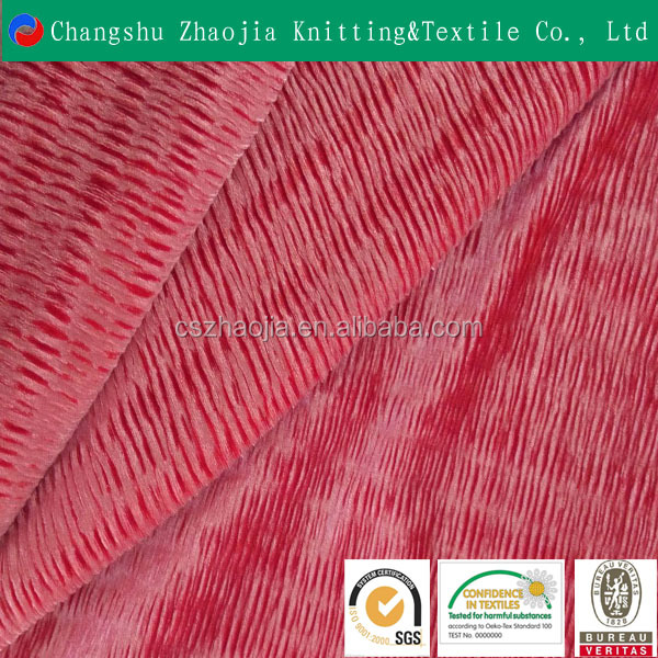 Changshu wholesale high quality Fashion new design knit stripe Elastic skirt fabric for sofa Upholstery