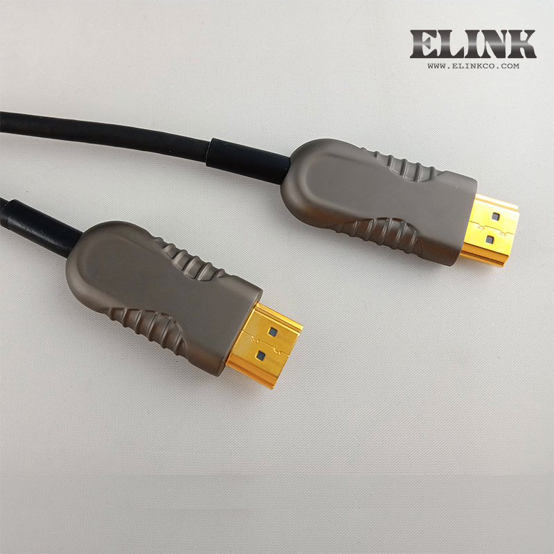 Fiber Optic Ultra Slim HDMI 350 FT High Speed Cable For Ethernet 3D 4K Audio Return Blu-Ray