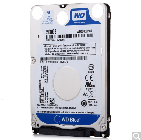 Western Digital Blue 500GB Mobile computer Hard Disk Drive 5400 RPM SATA 6 Gb/s 7.0 MM 2.5 Inch WD5000LPCX