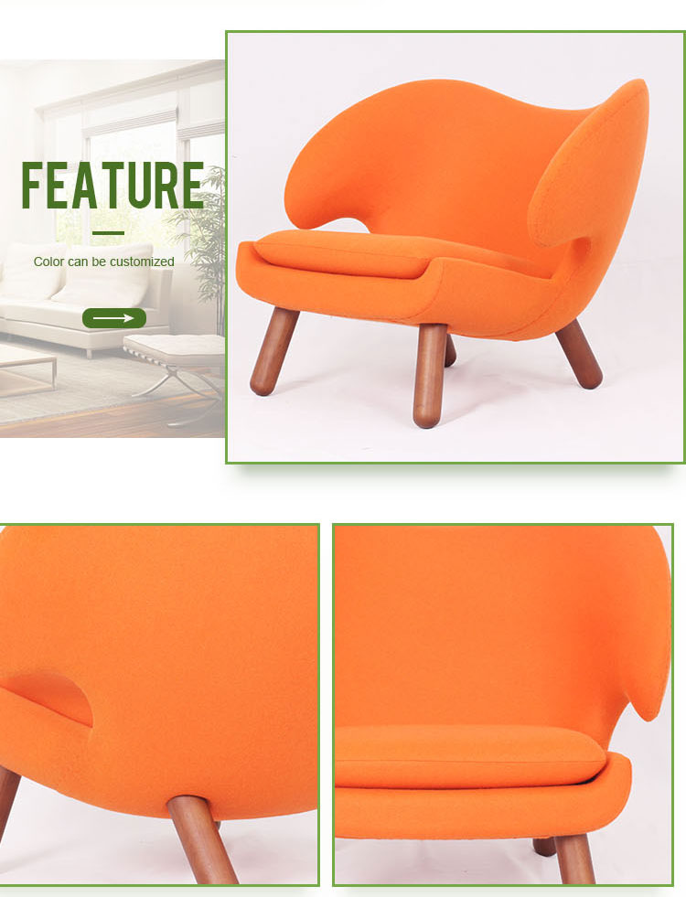 Modern living room furniture relex pelican chair