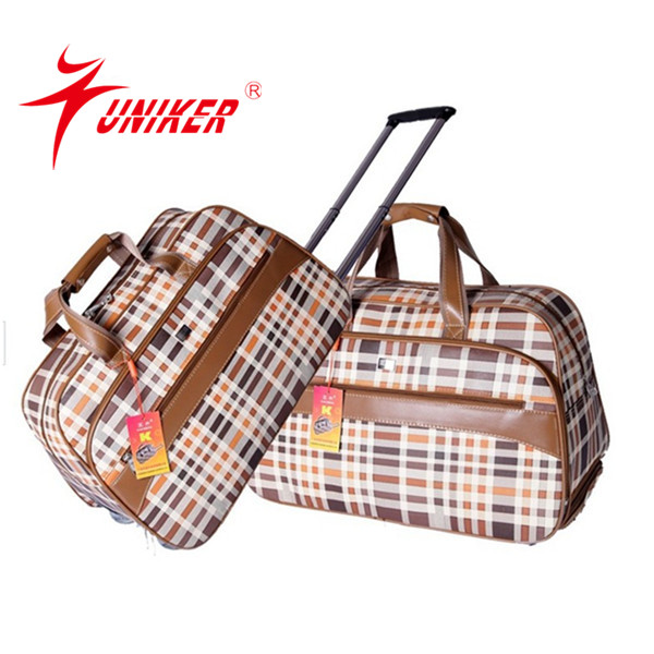 Casual trolley bag male large capacity portable travel bag vintage travel trolley luggage