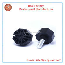 custom plastic adjustable feet for furniture use