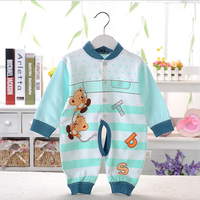 caa40027 2016 khaki,red,blue color girl boy baby clothing for spring autumn