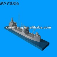 high quality hot sale custom miniature resin model ship kit collection