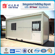 oil and gas filed staff compound with movable container house