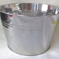Large Size Party Ice Bucket Metal