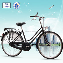 "28"" high end hand-made retro style old Dutch lady bike"