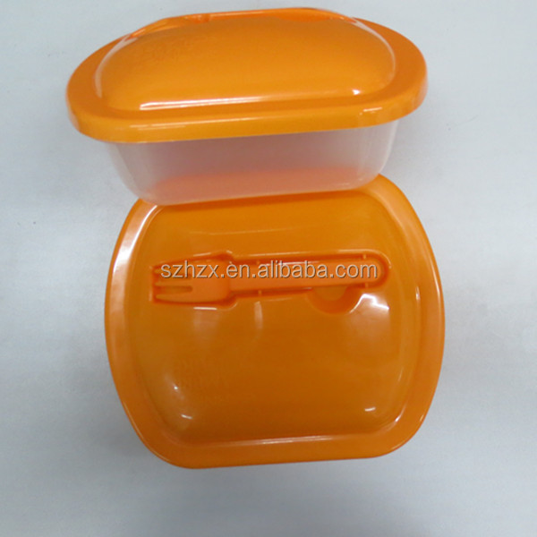 Plastic Food Containers - Reclosable - Microwave Safe