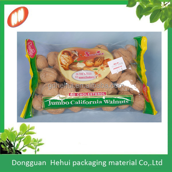 air tight laminated custom printing plastic walnut packaging pouches