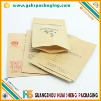 High qaulity zip lock paper bag for snack,coffee, food packaging moisture proof packing bag