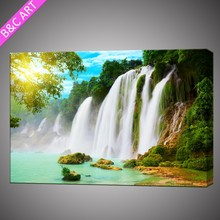 Modern wall decoration scenery picture fine art giclee canvas print custom