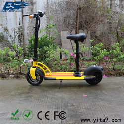 Hot sell yellow electric motorcycles