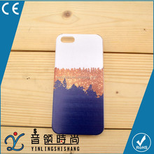 OEM China Supplier Ultra Thin Transparent Hard PC Pattern Cover Mobile Phone Case For Iphone 5 6