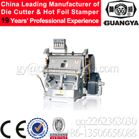 ML-1100+ Manual heat press die cutting and creasing machine